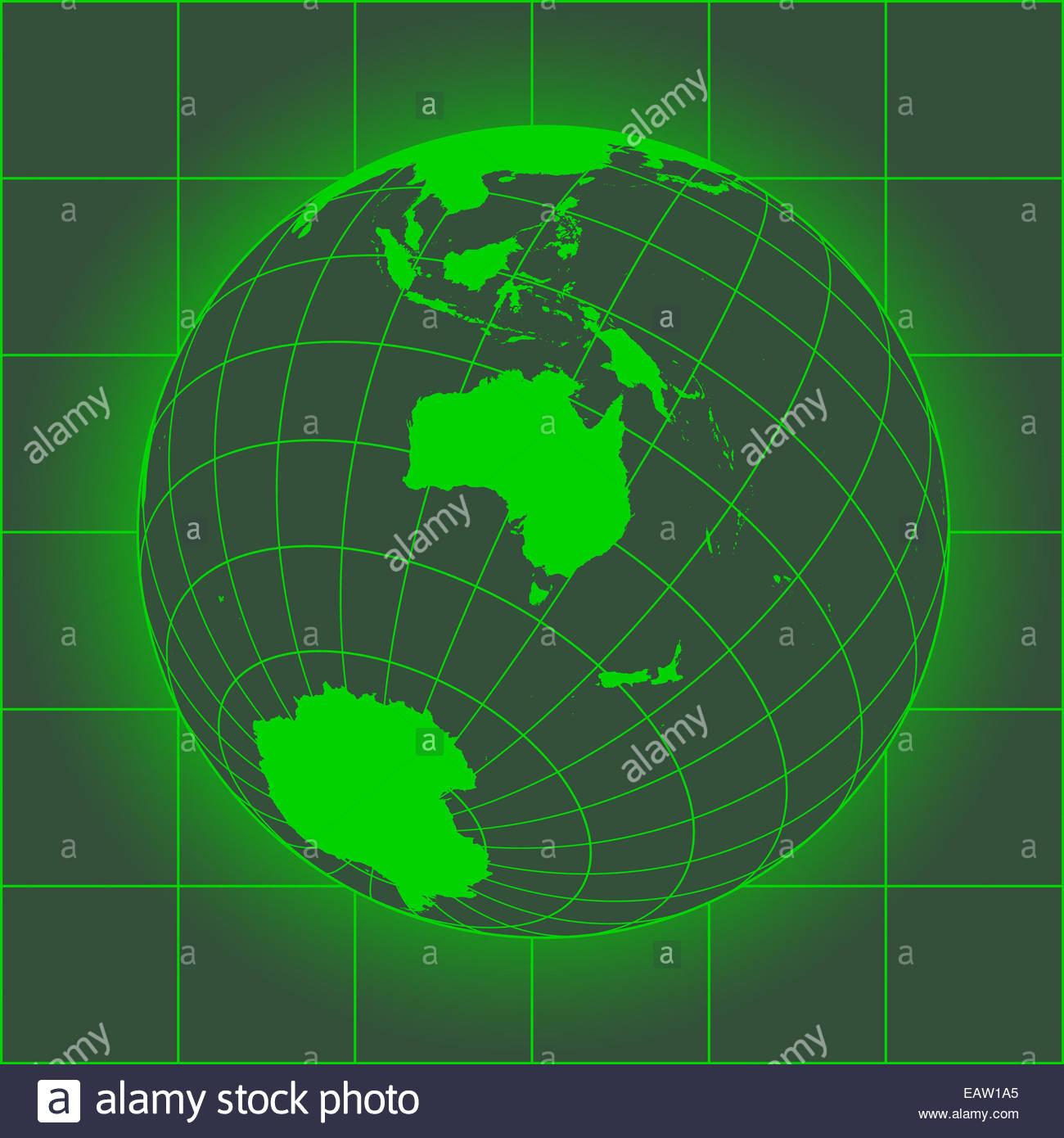 Carte Russie Australie.La Carte Verte L Australie L Asie La Russie L Antarctique