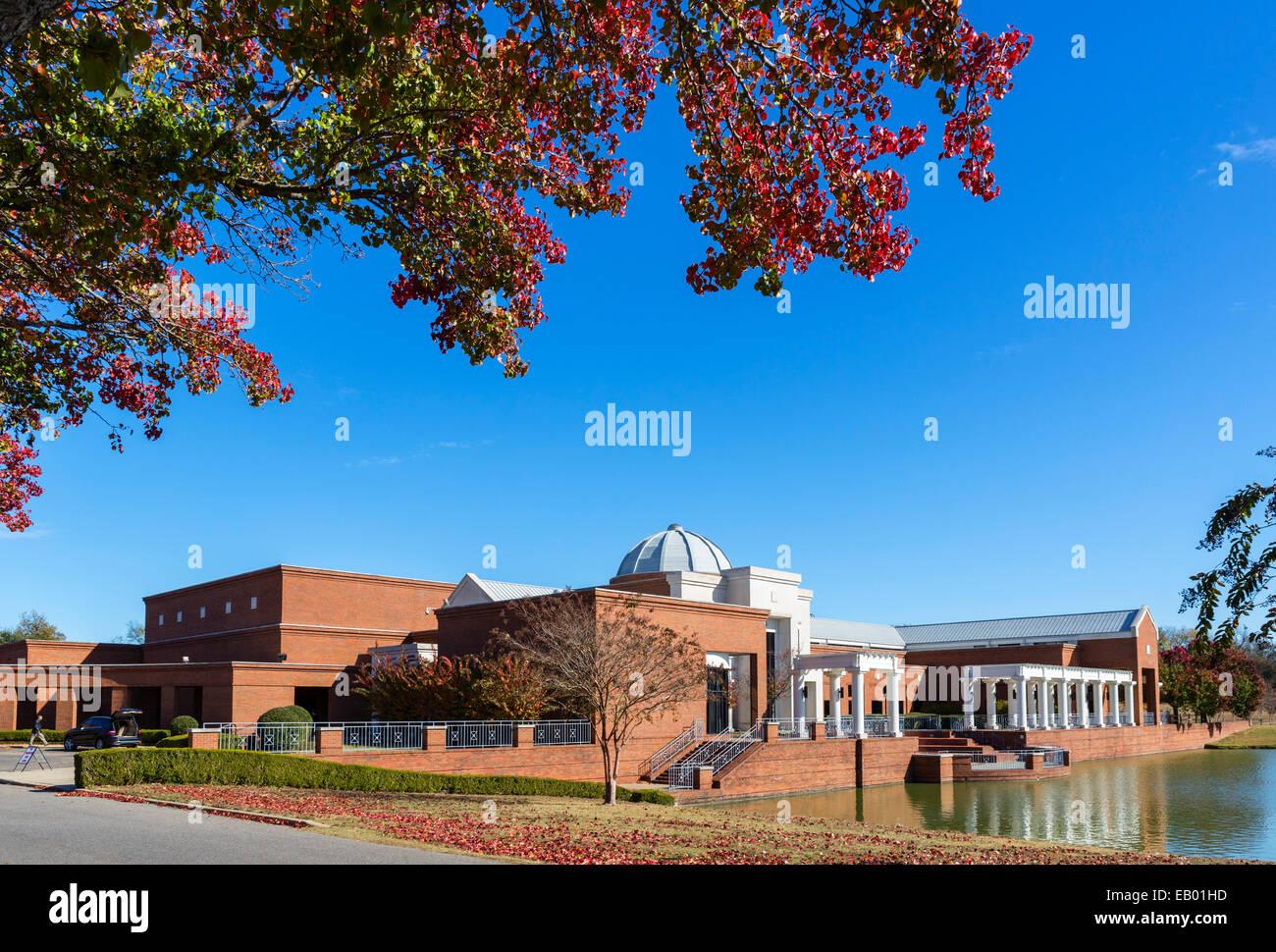 Montgomery Museum of Fine Arts, Blount Cultural Park, Montgomery, Alabama, États-Unis Photo Stock