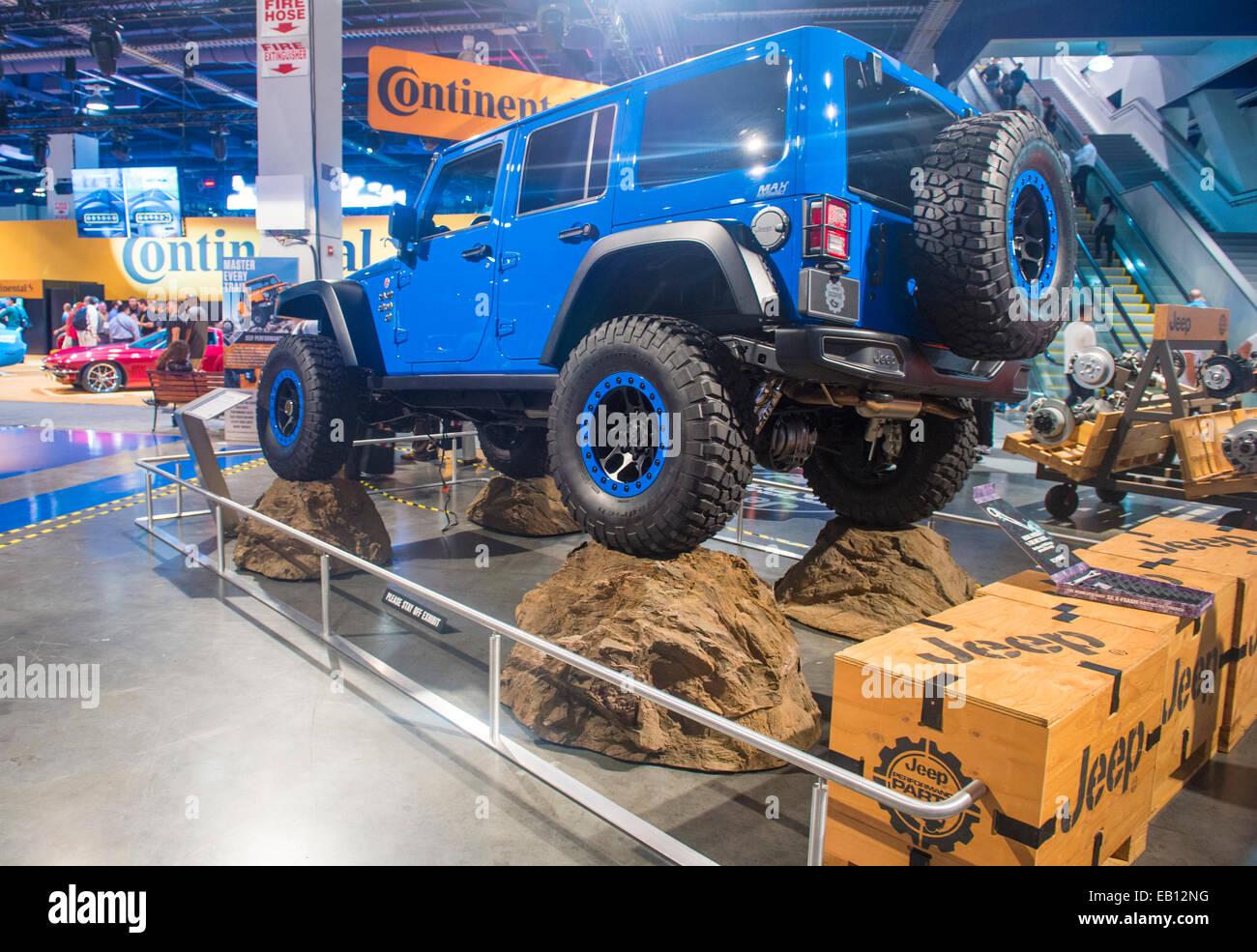 Jeep au SEMA Show à Las Vegas Banque D'Images