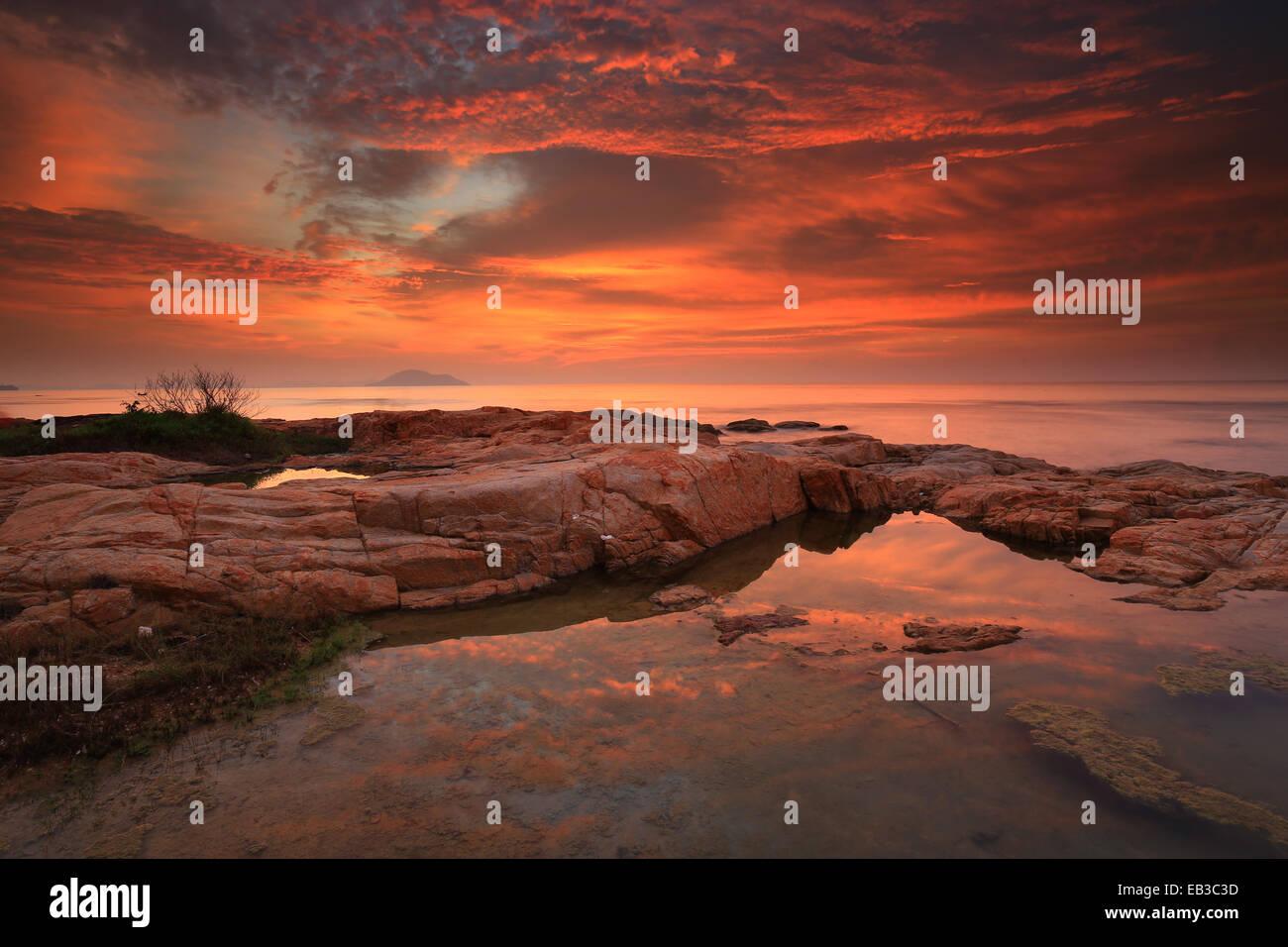 L'Indonésie, Singkawang colorés Photo Stock