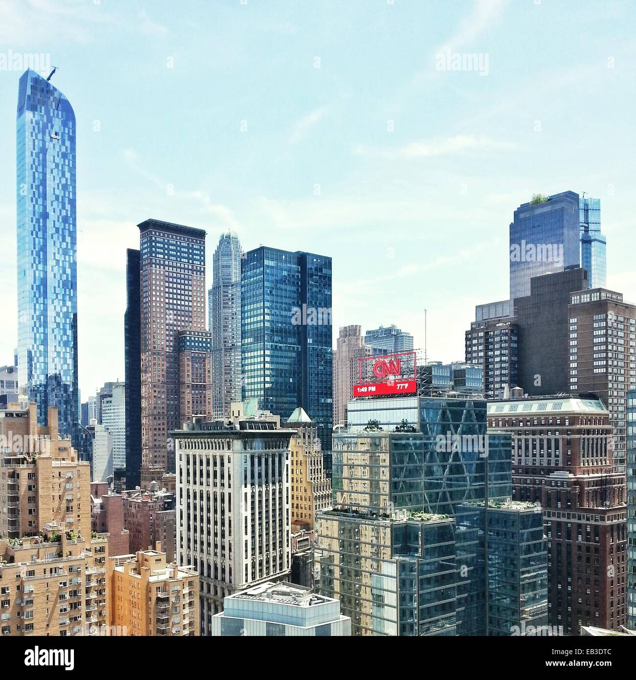 USA, New York State, New York, vue du paysage urbain Photo Stock