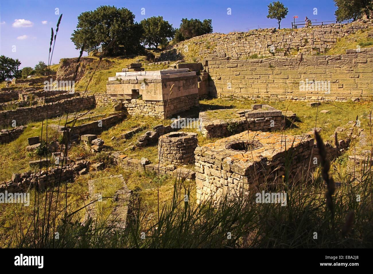 Ancienne Anatolie antiquité archéologie architecture site archéologique d'attribut Asie commencer Photo Stock
