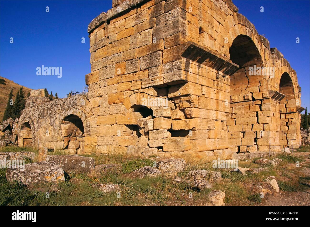 2e siècle à côté de l'Anatolie de l'antiquité archéologie architecture ancienne Photo Stock