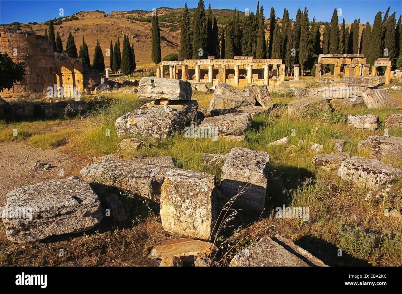 2e siècle à côté de l'Anatolie ancienne antiquité archéologie architecture Asie Photo Stock