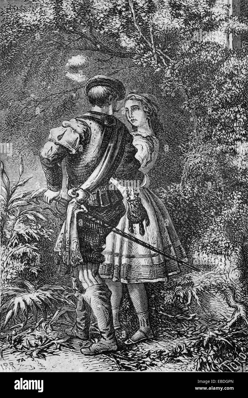 Annees 1800 19e Siecle Chateaubriand Livres En Noir Et Blanc Dessin