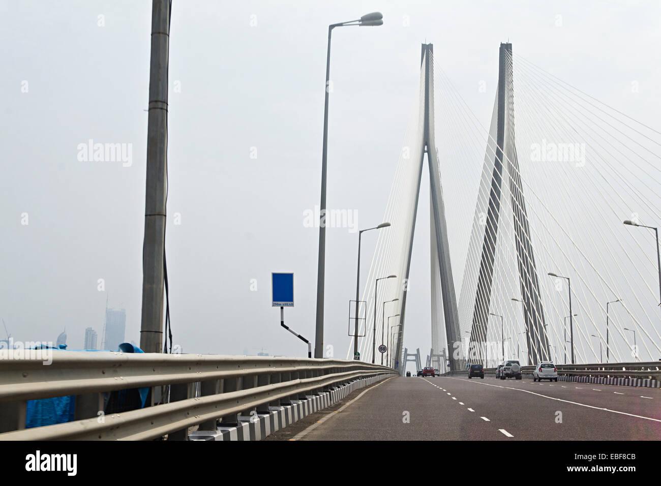 Inde Mumbai Bridge Flyover Banque D'Images