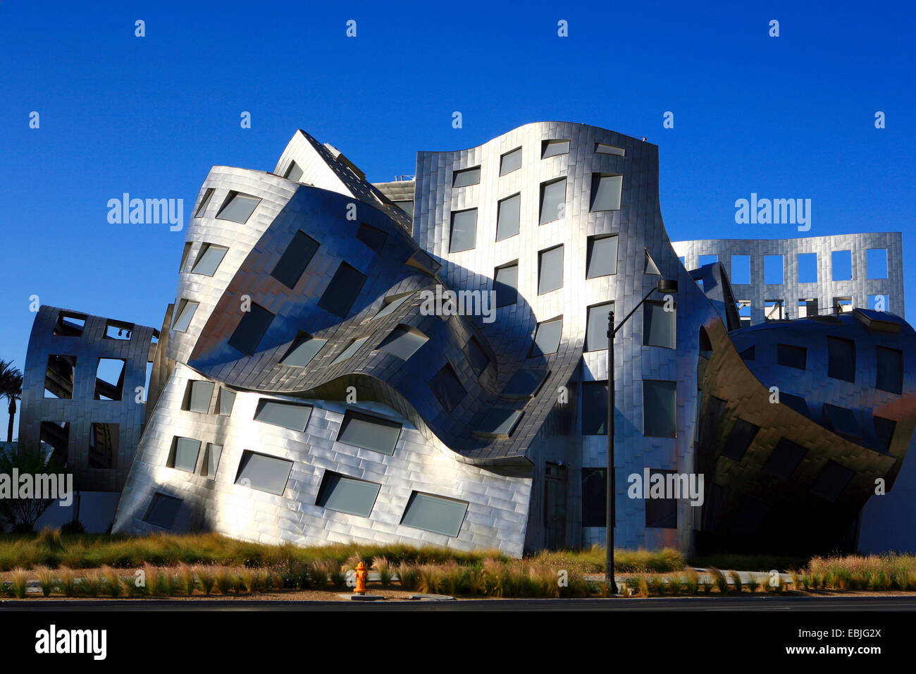 Cleveland Clinic Lou Ruvo Center de style architectural moderne, USA ...