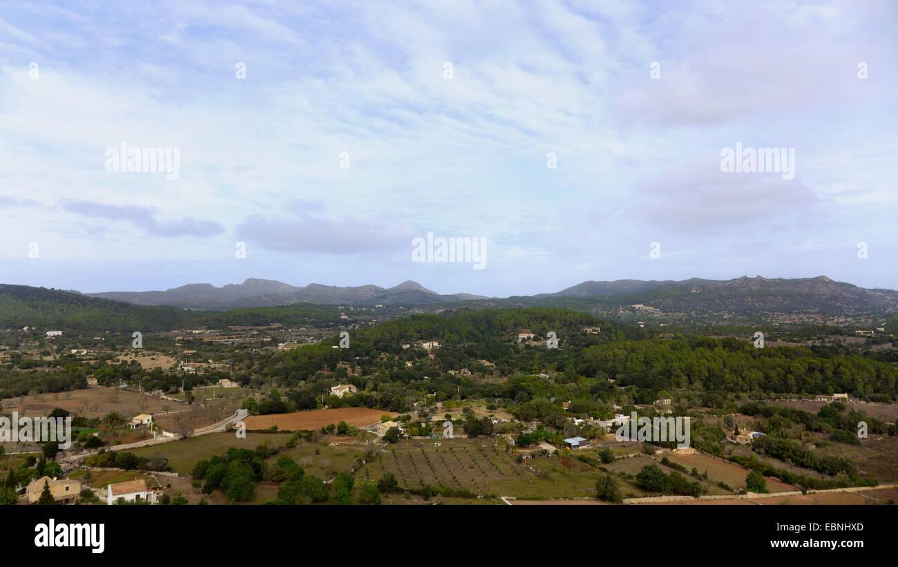 Paysage près de Artß dans le nord-est de Majorque, Espagne, Baléares, Majorque, Arta Banque D'Images