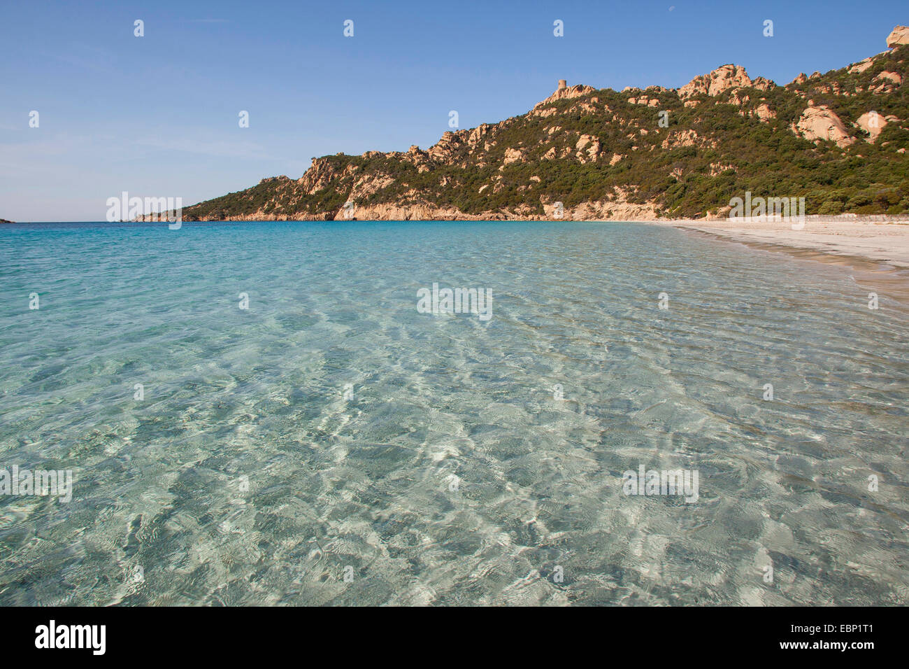 Paysages de la côte de la Corse, Corse, France Photo Stock