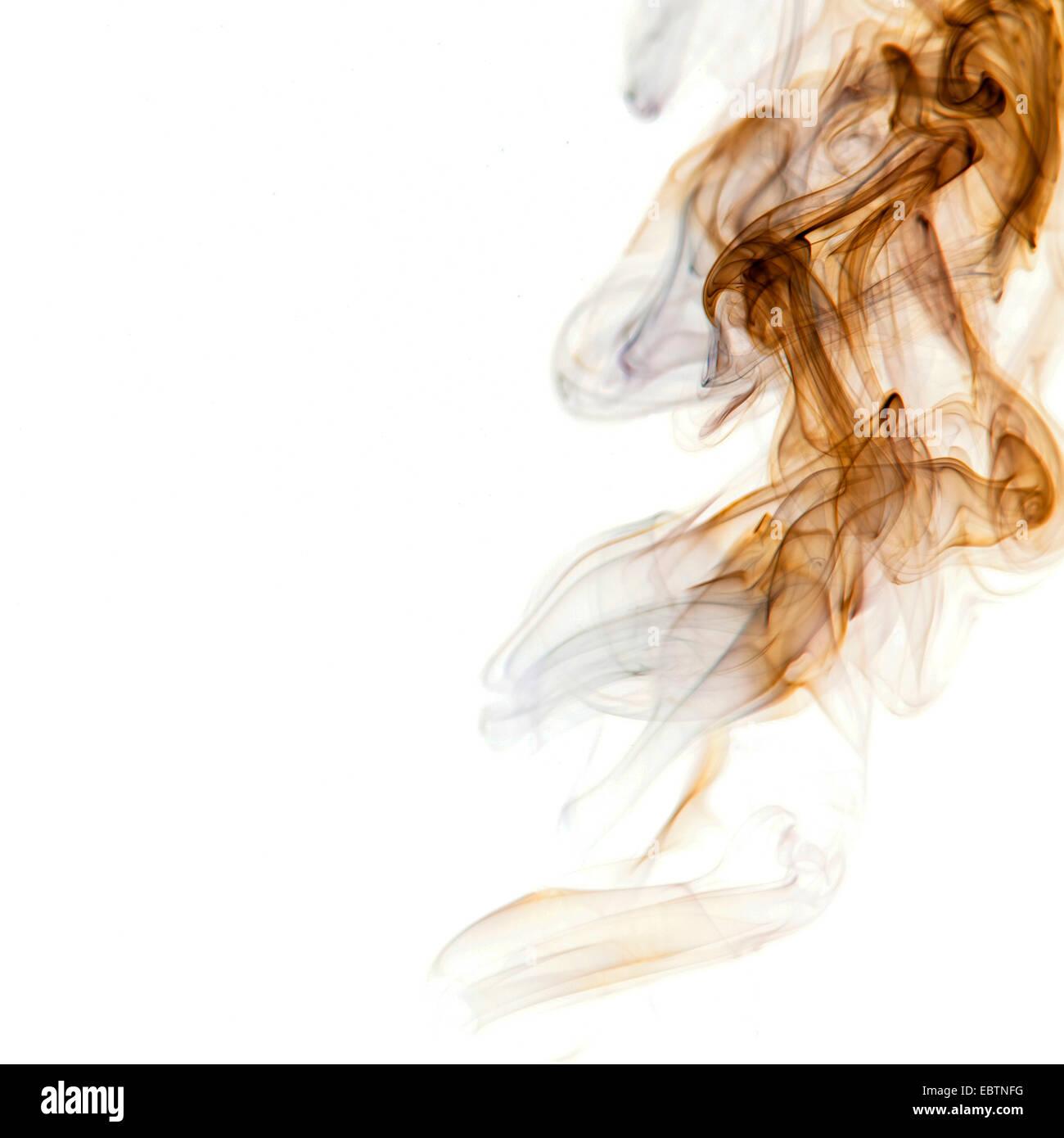 La fumée de couleur artistique Photo Stock