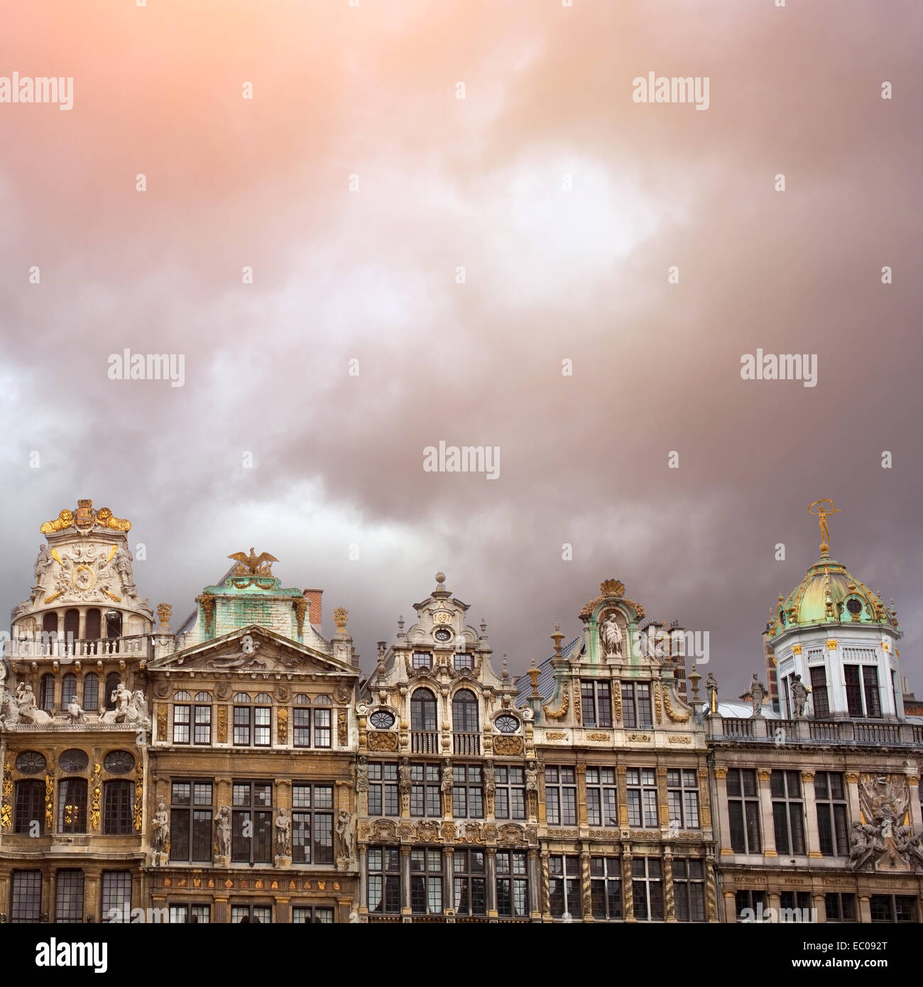Grand Place, Bruxelles, Belgique Photo Stock