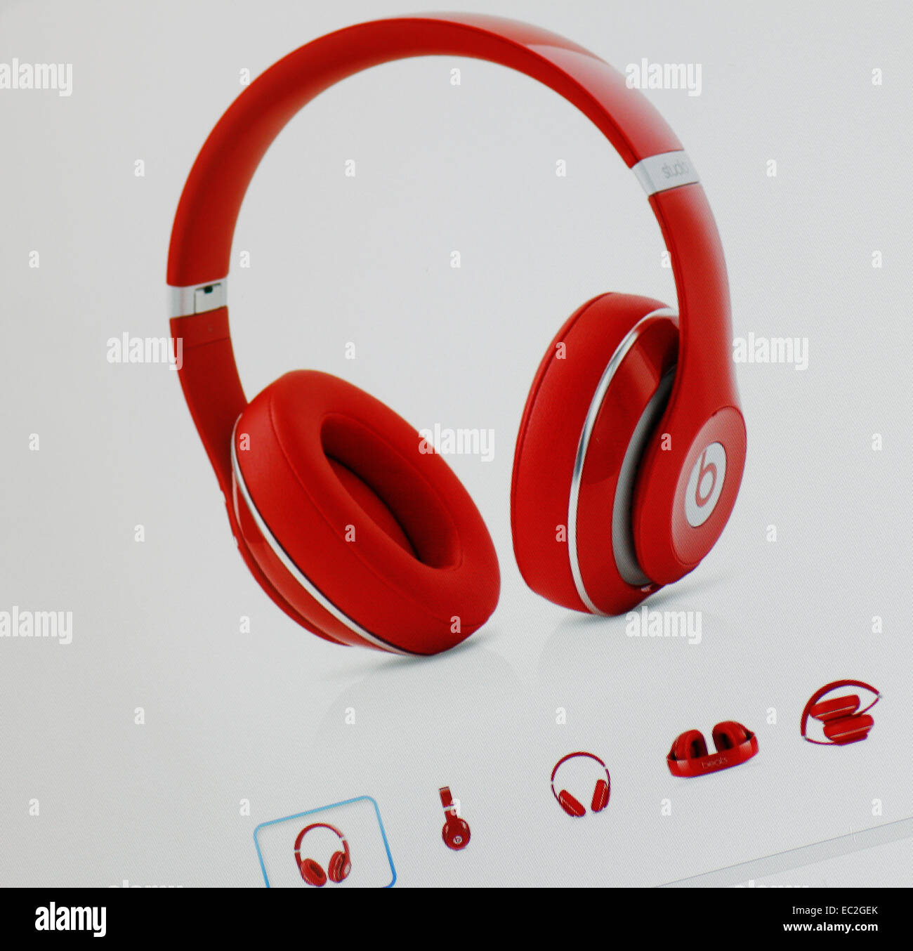 Casque Beats by Beats Electronics Photo Stock