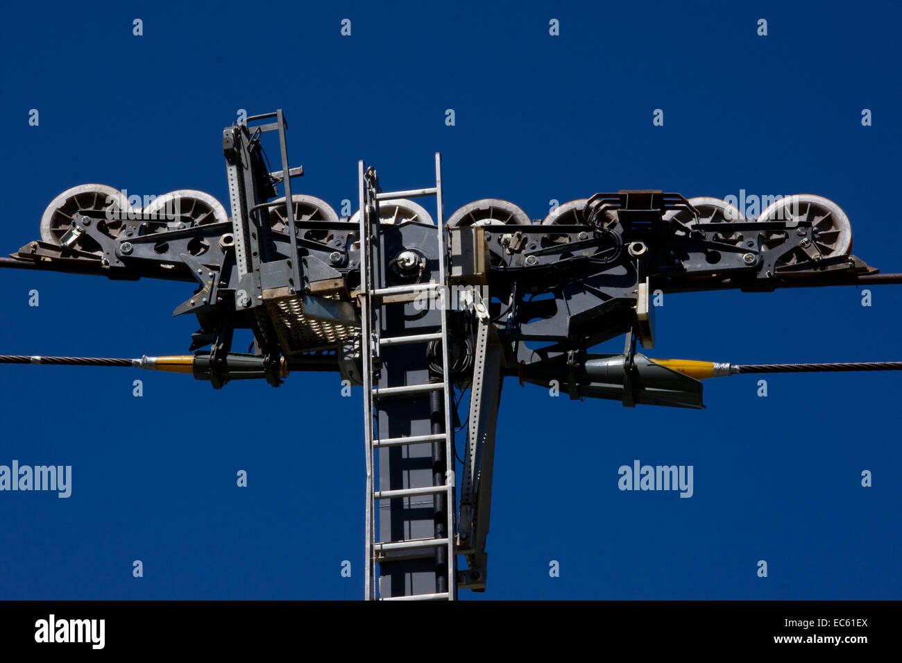 suspension system photos suspension system images alamy. Black Bedroom Furniture Sets. Home Design Ideas