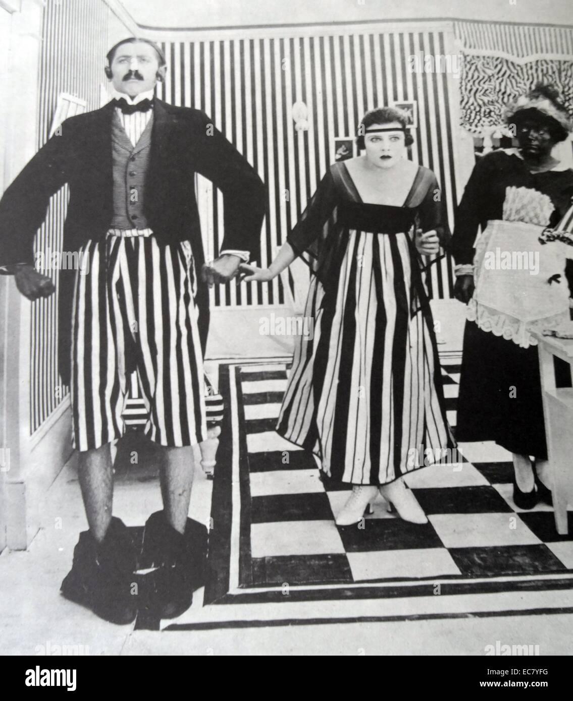 La Sennett imitateurs. Son dernier rire, c 1916 avec Marie Thurman. Photo Stock