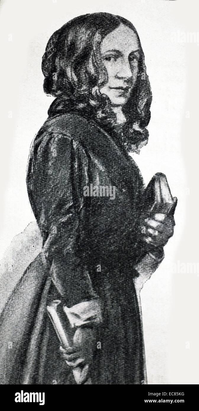 Début du xixe siècle, l'anglais gouvernante Photo Stock