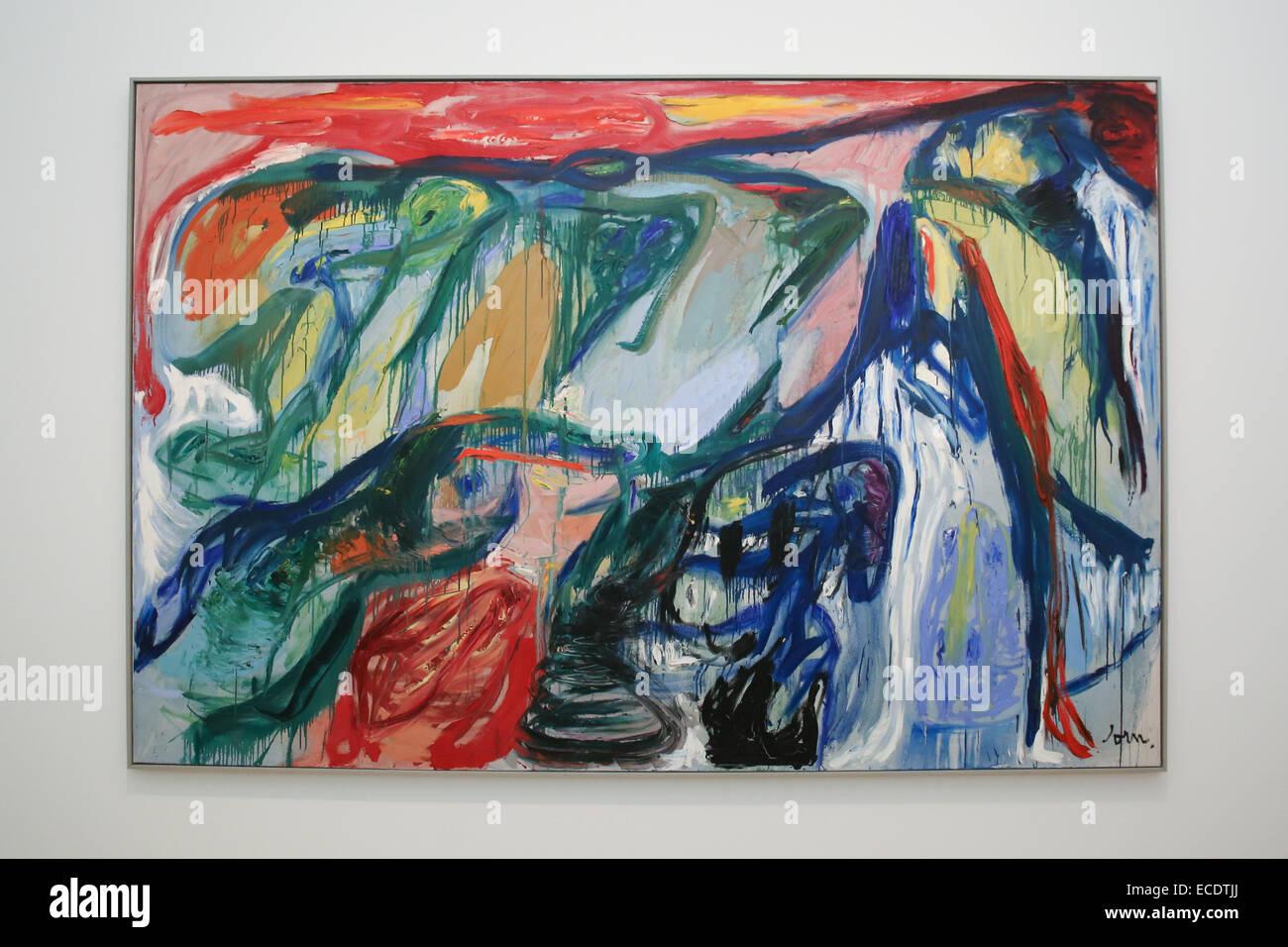 La peinture abstraite Banque D'Images