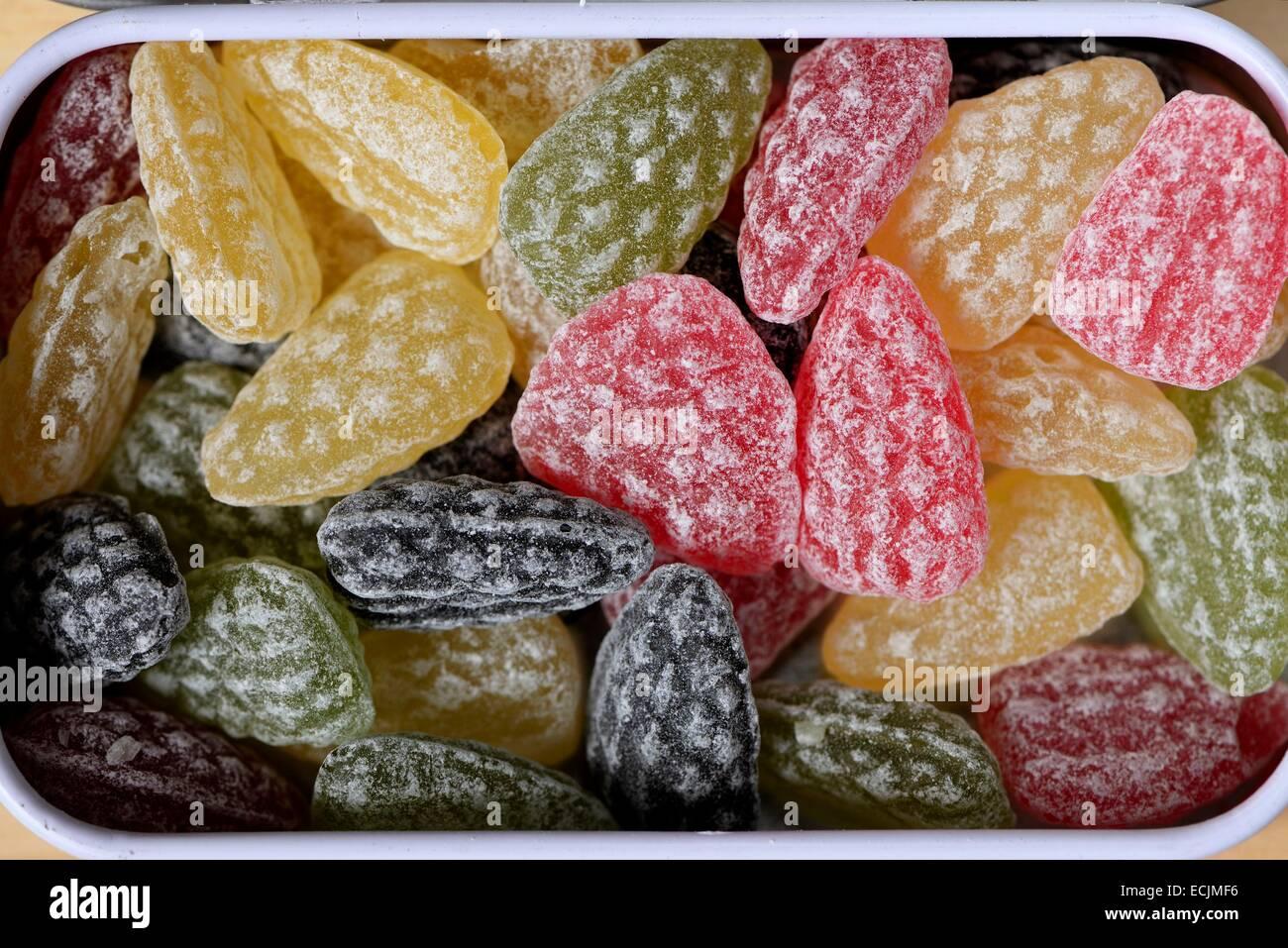 d7eb7a2fdb France, Vosges, Plainfaing, confiserie des Hautes Vosges, fort de saveurs  naturelles, bonbons des Vosges, résine label Foret L'effet Vosges