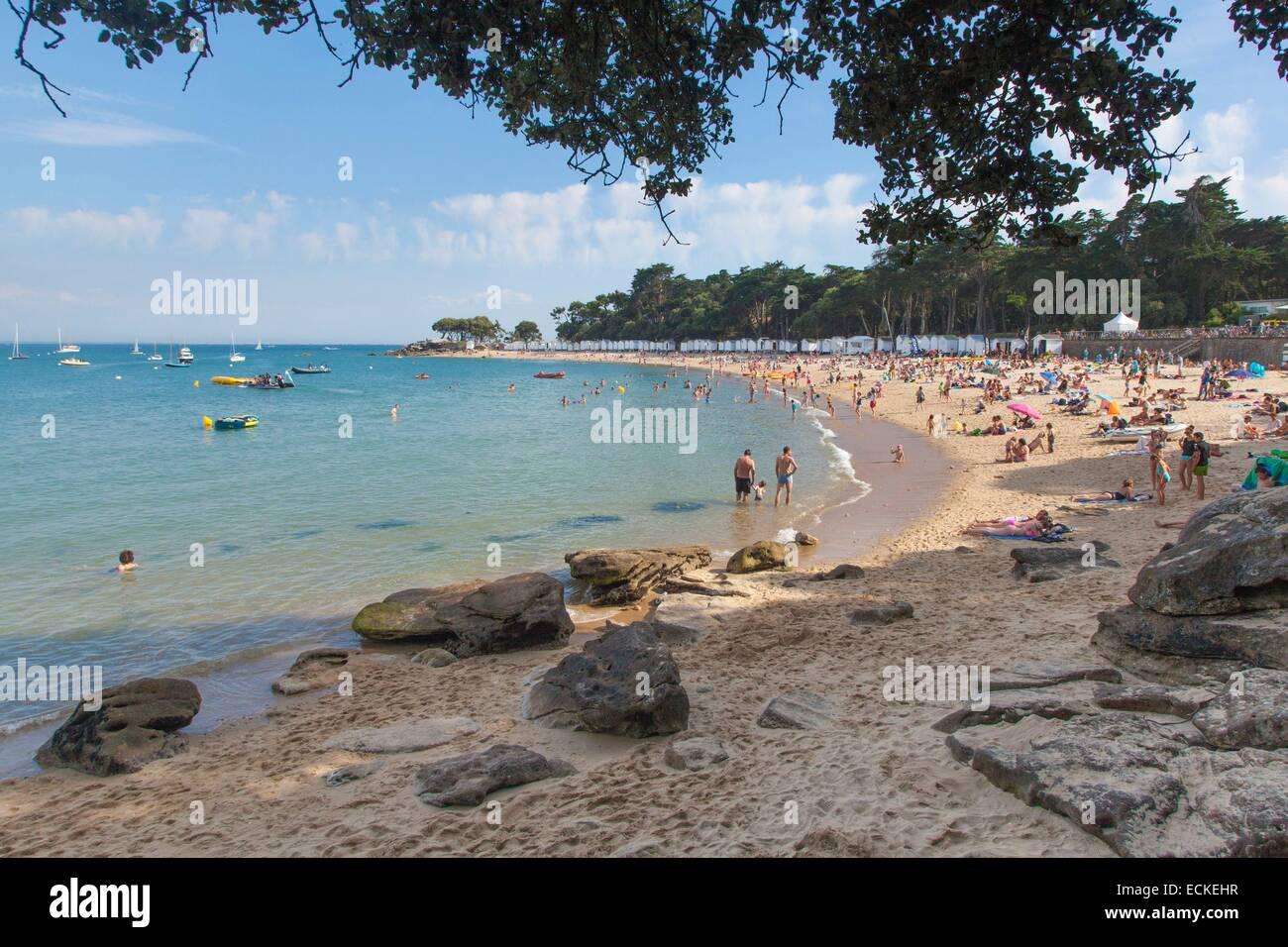 France Vendee Ile De Noirmoutier Le Bois La Chaise Plage Des Dames