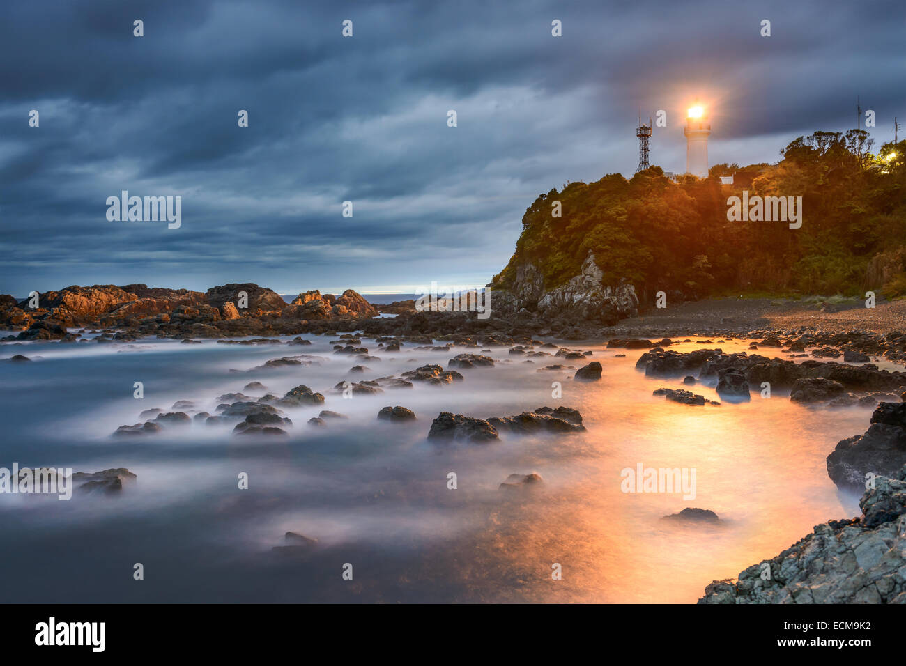 Le Japon à Shionomisaki Kushimoto, Cape, point le plus au sud de l'île principale de Honshu. Photo Stock