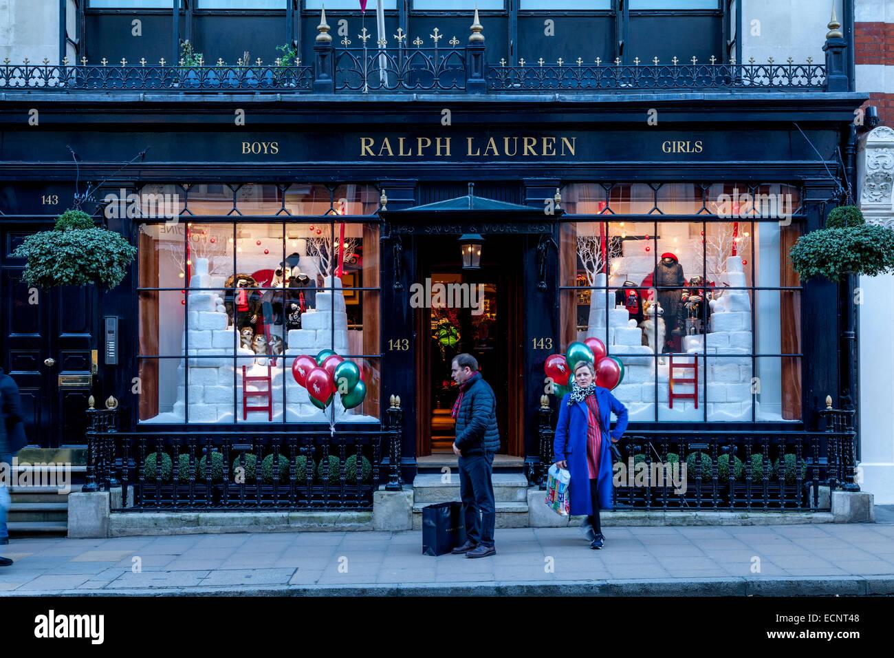 Le Magasin Ralph Lauren à New Bond Street, Londres, Angleterre ... f7a556d8c4e