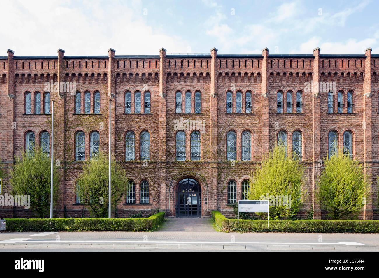 Bâtiment principal de l'architecture, ministère de l'Université de Jade, Oldenbourg, Basse Photo Stock