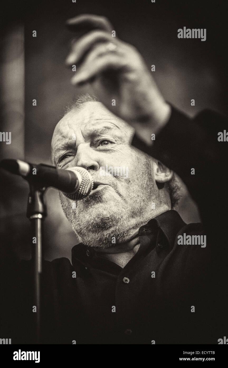 Le 24 mai 2009. 16 Nov, 2008. Aptos, Californie, USA - Joe Cocker live à la 17e édition du Festival de Blues de Banque D'Images