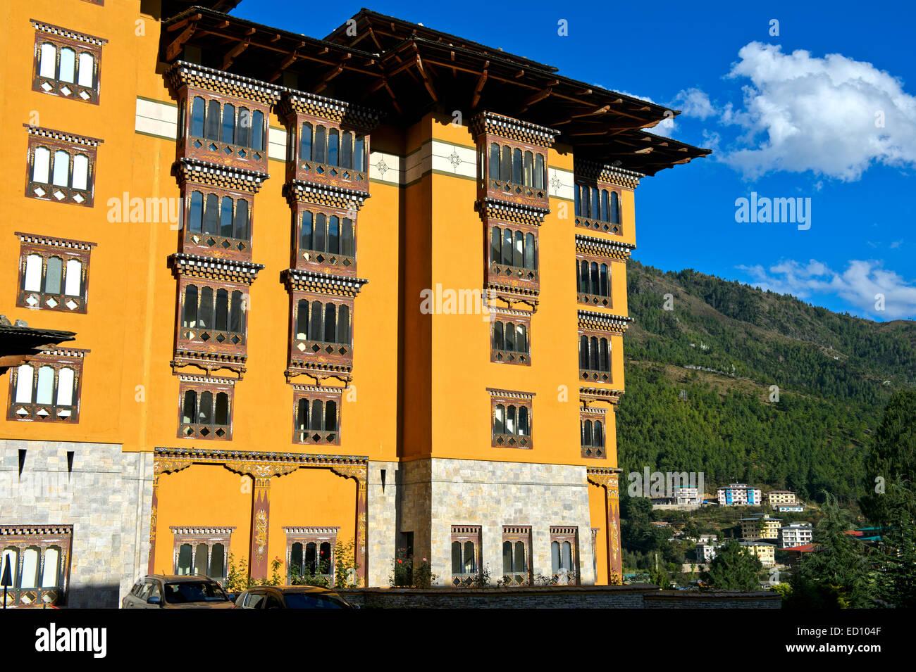 L'hôtel Taj Tashi, Thimphu, Bhoutan Photo Stock