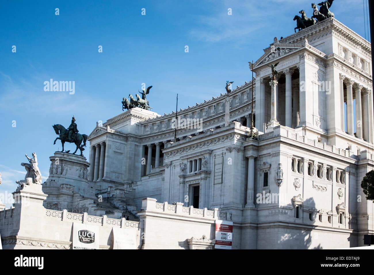 Le Vittoriano ou Altare della Patria à Rome, Italie Photo Stock