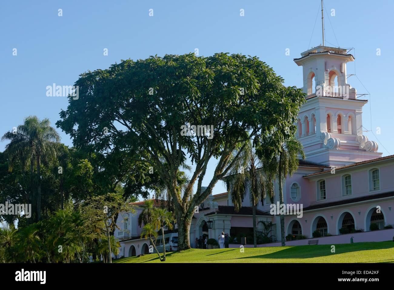 Belmond Hotel Das Cataratas, Iguacu Falls, Foz de Iguacu, Brésil, Amérique du Sud Banque D'Images