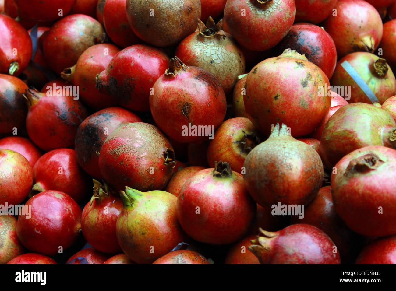 Anar, anardana, antioxydant, antioxydants, se concentrer, Crimson, dense, le régime alimentaire, manger, comestibles, Photo Stock