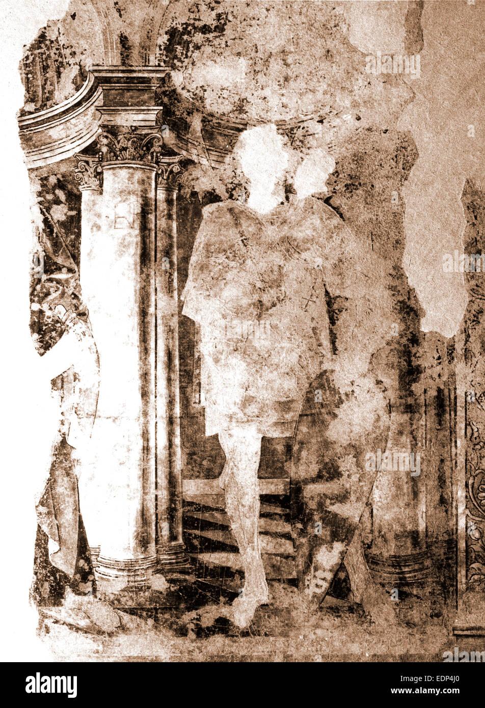 Les Abruzzes, L'Aquila, Celano, musée, Italie, 20e siècle, photo, photographie, Europe Photo Stock