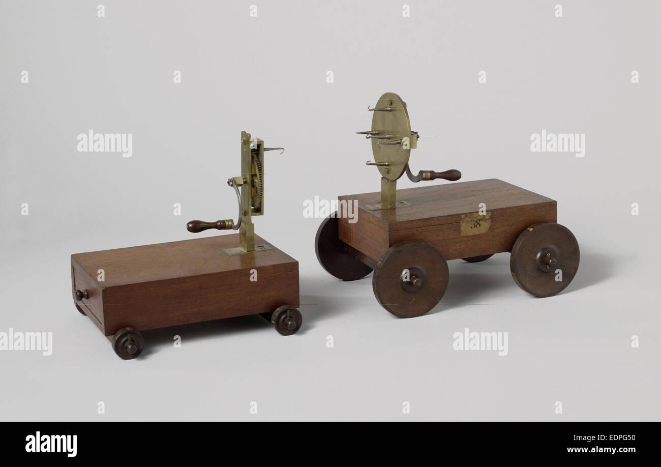 Pôle tour et transport pour corde de décisions, Anonyme, 1800 - 1858 Photo Stock