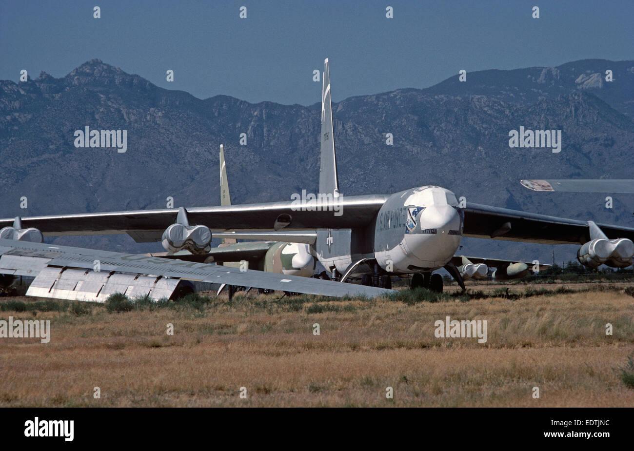 Cimetiere Avion Usa usa la base aérienne davis-monthan tuscon, arizona, avions cimetière