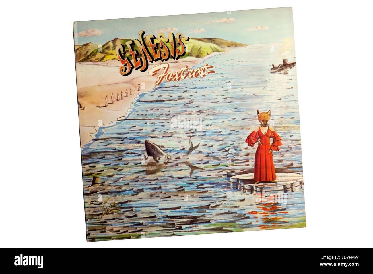 Foxtrot est le quatrième album studio du groupe de rock progressif Anglais Genesis, sorti en 1972. Photo Stock