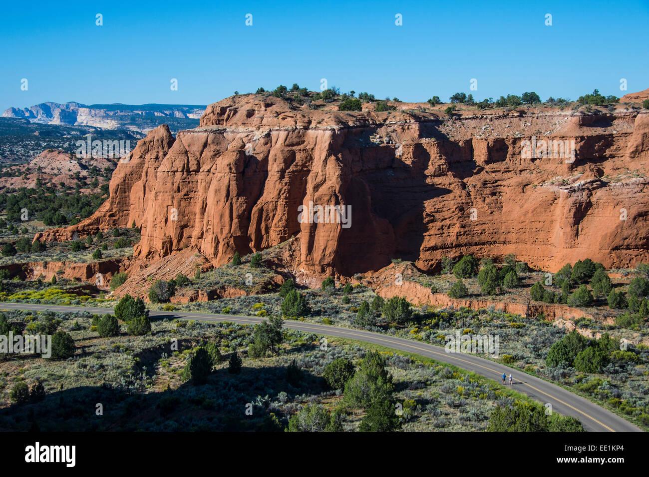 Vue sur le parc d'état de Kodachrome Basin, Utah, États-Unis d'Amérique, Amérique du Photo Stock
