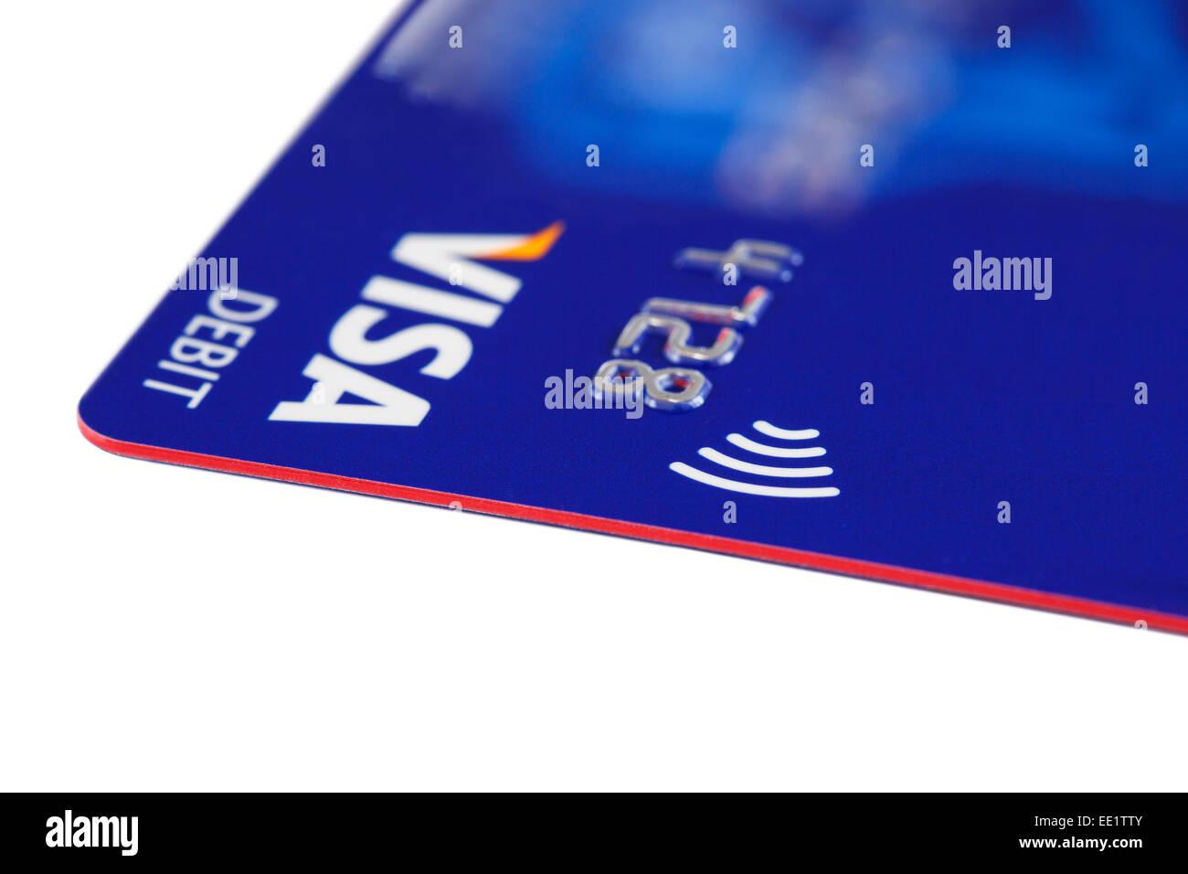 Carte Visa Angleterre.Carte De Debit Visa Paywave En Utilisant La Technologie Sans