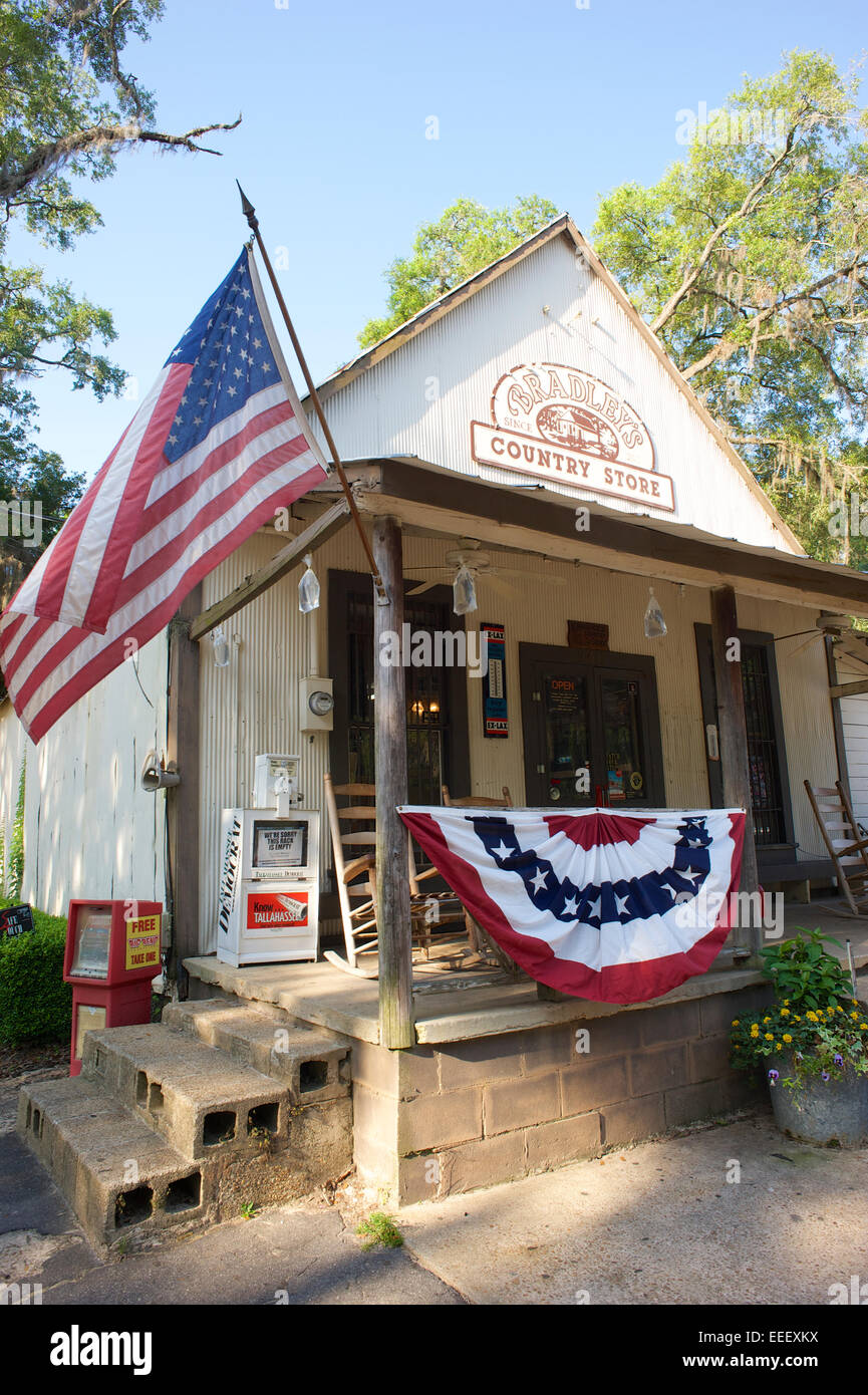 Bradley's Country Store Banque D'Images