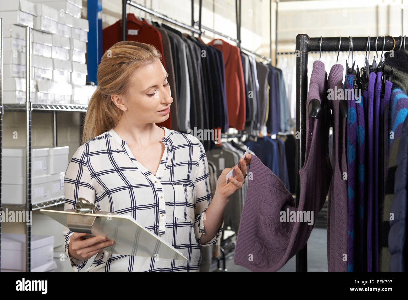 Woman Fashion Business en ligne Photo Stock