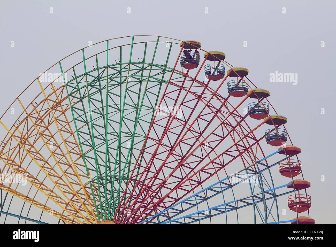 Ferries wheel à Beyrouth. Photo Stock