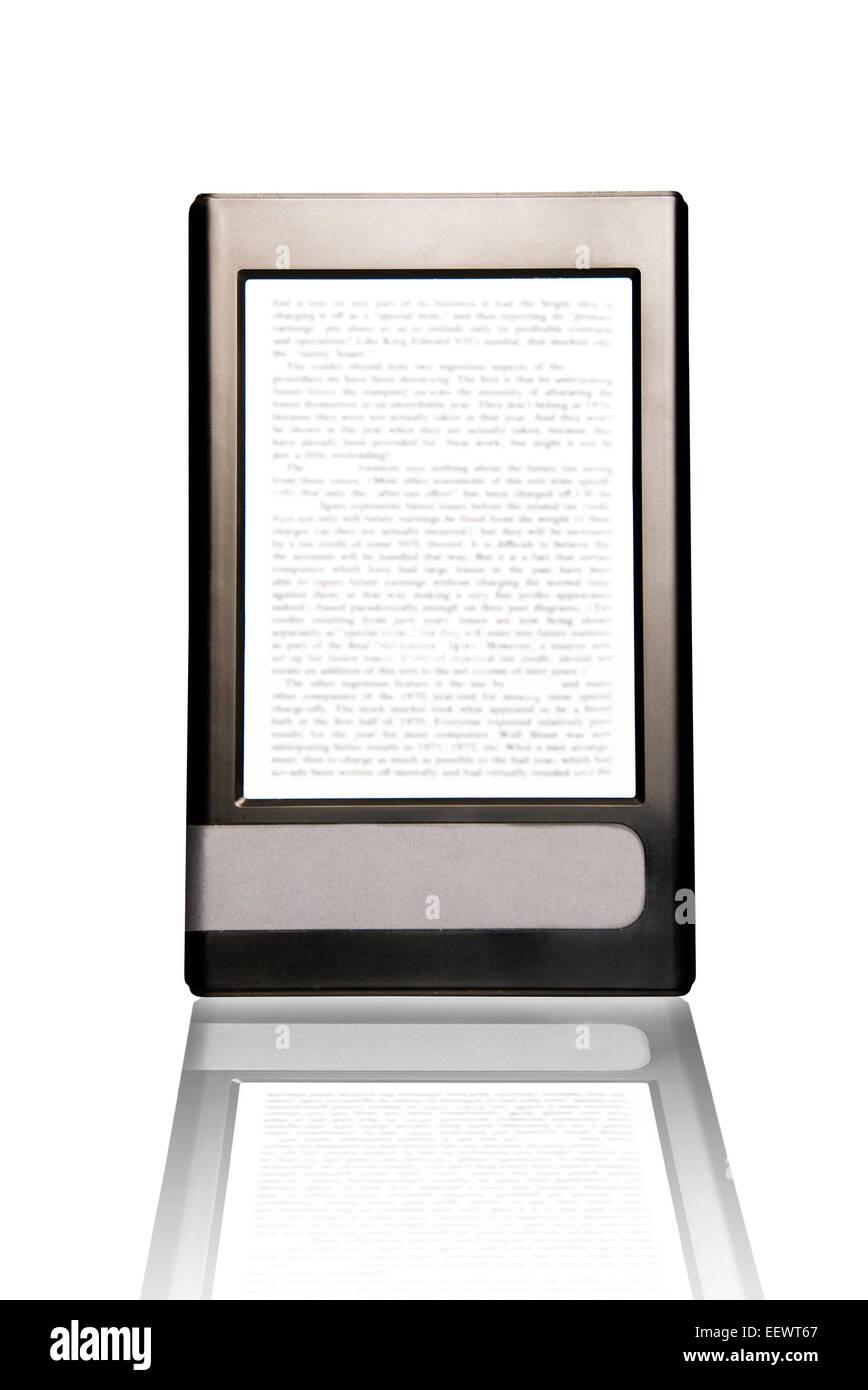 Image conceptuelle pour le livre électronique ou la technologie du livre électronique Banque D'Images