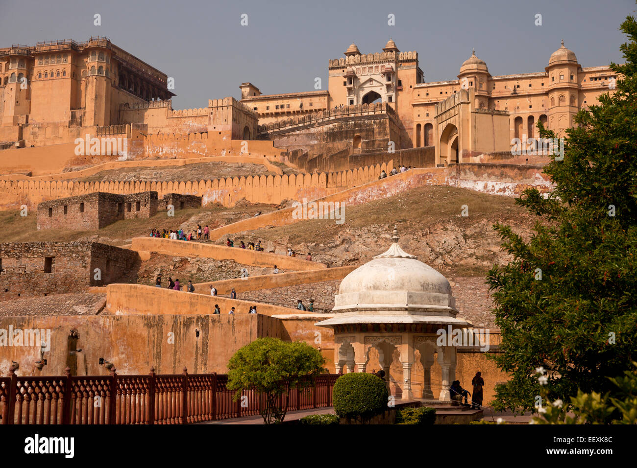 Fort Amber, Jaipur, Rajasthan, Inde Photo Stock