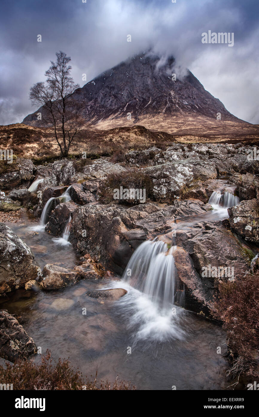 Etive Moor Ecosse Photo Stock