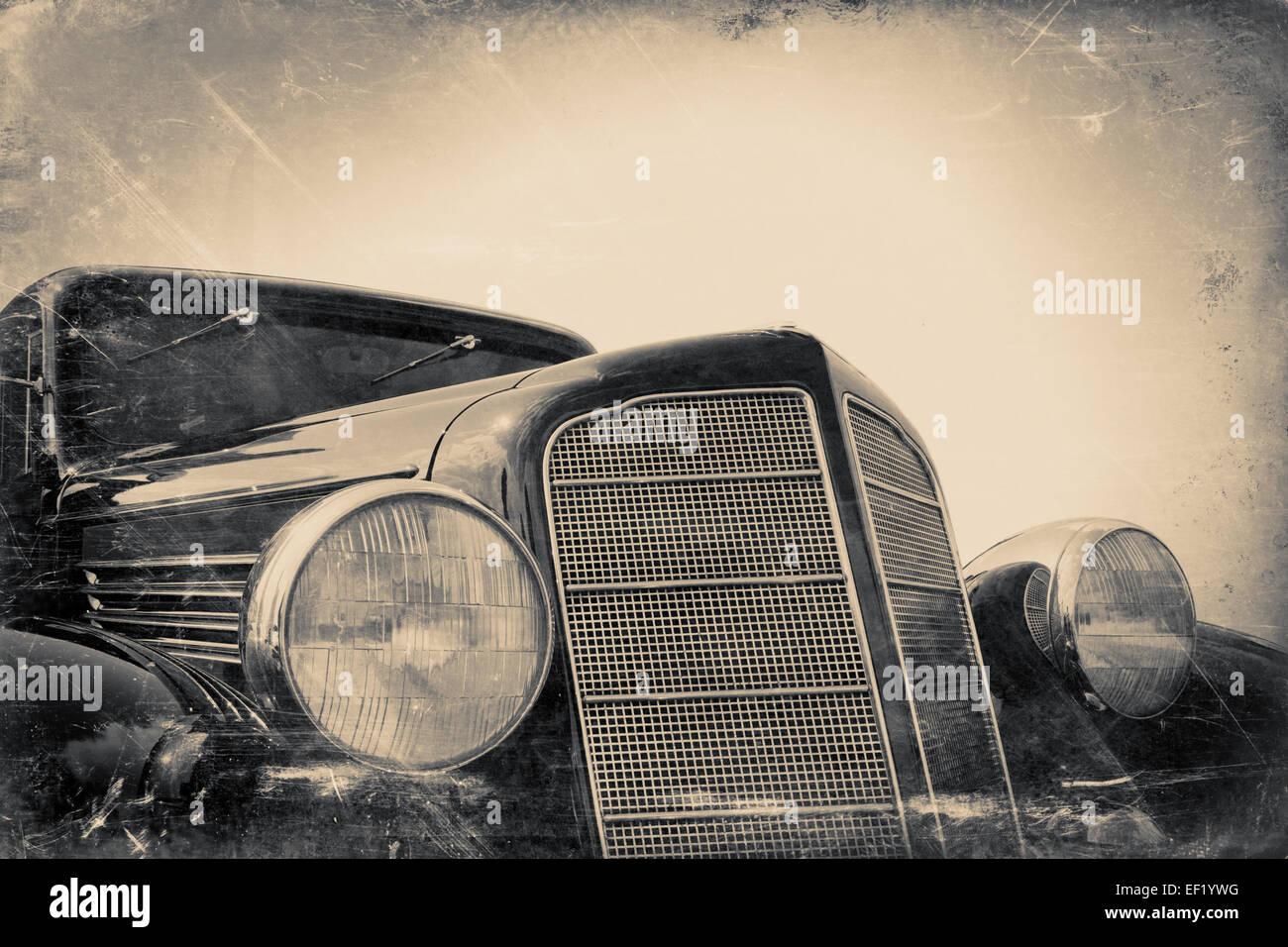Fragment d'ancienne vintage photo minable stylisé Banque D'Images