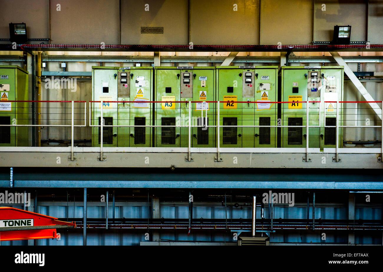 La station cible ISIS à Harwell 1 La Science et Innovation Centre, Oxfordshire, UK Photo Stock
