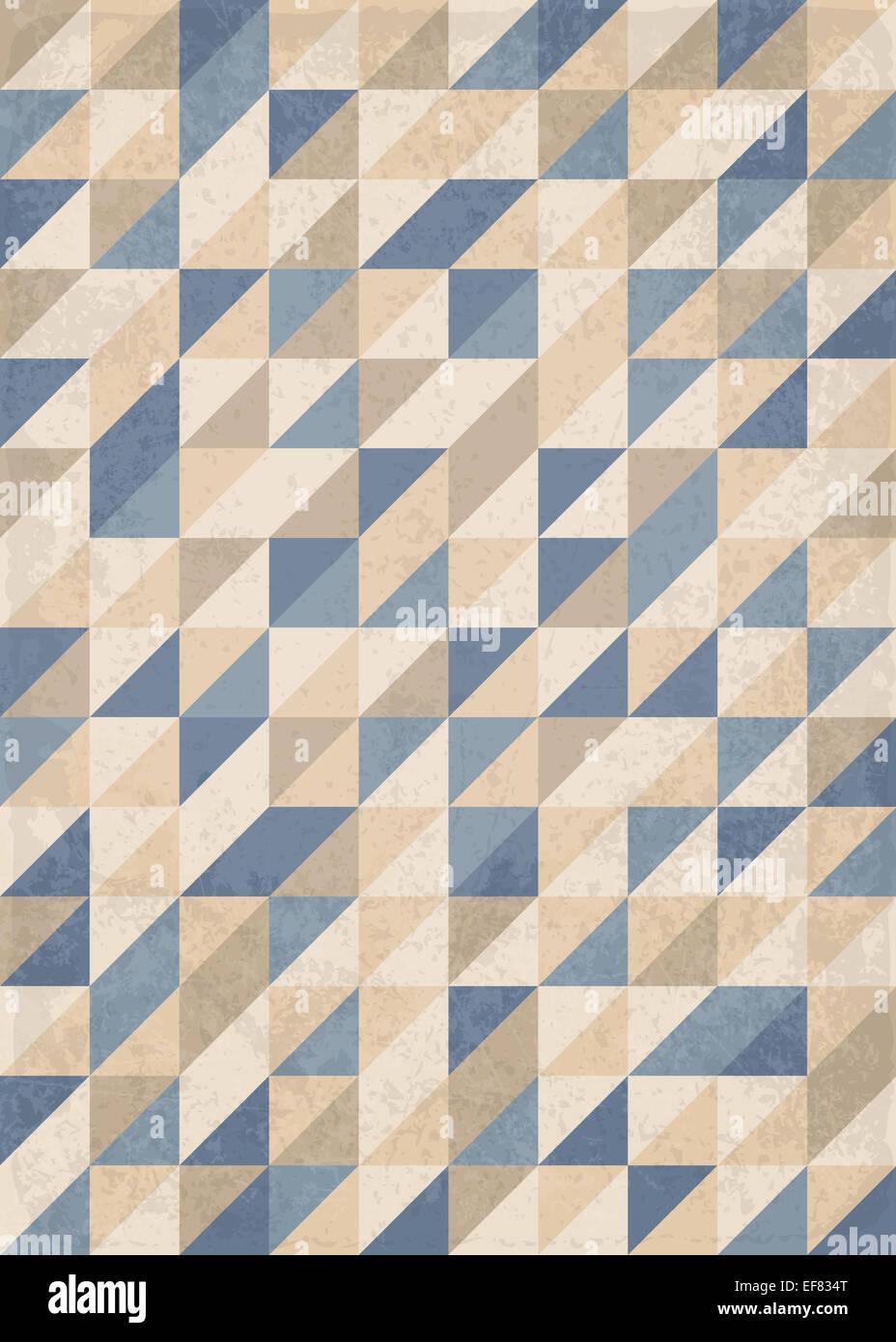 Résumé Contexte géométrique de triangles Photo Stock