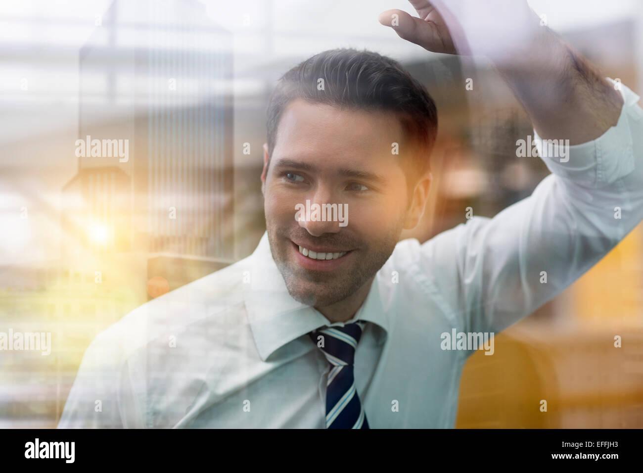 Portrait of a businessman Photo Stock