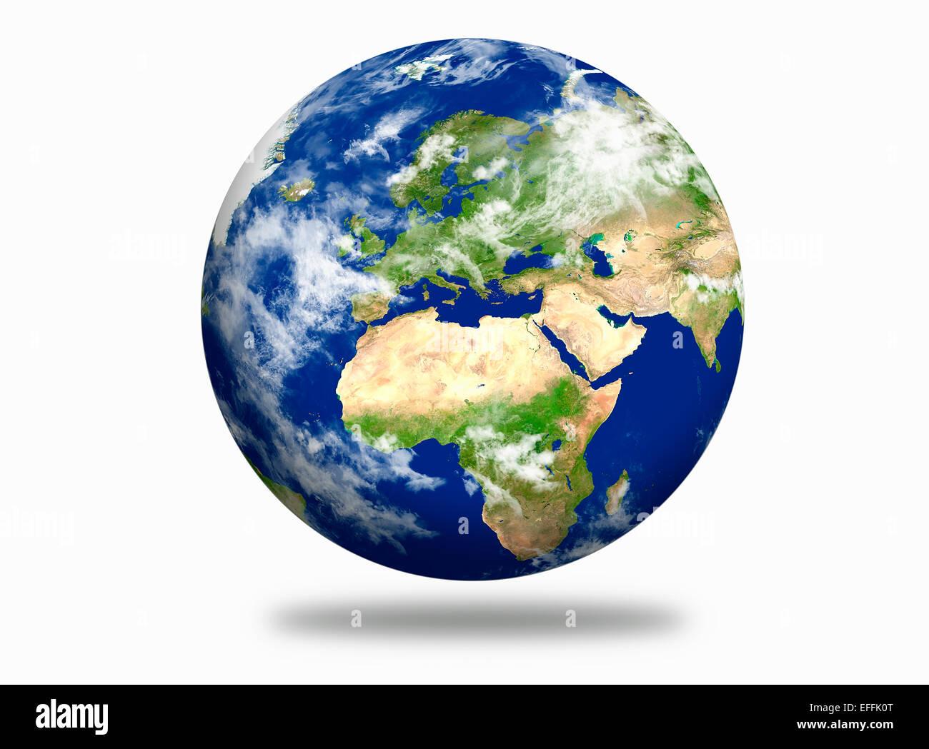 planète terre Photo Stock