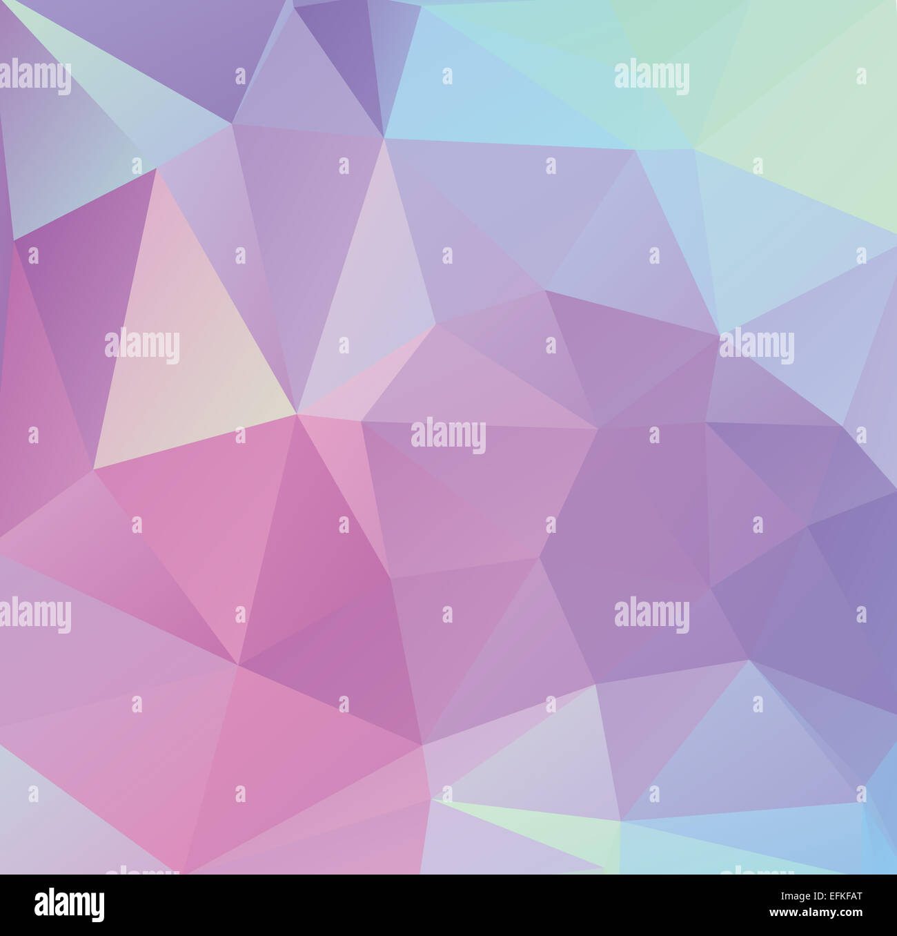 Polygone Avec Pastel Géométrique Triangle Forme Paramétrique Banque