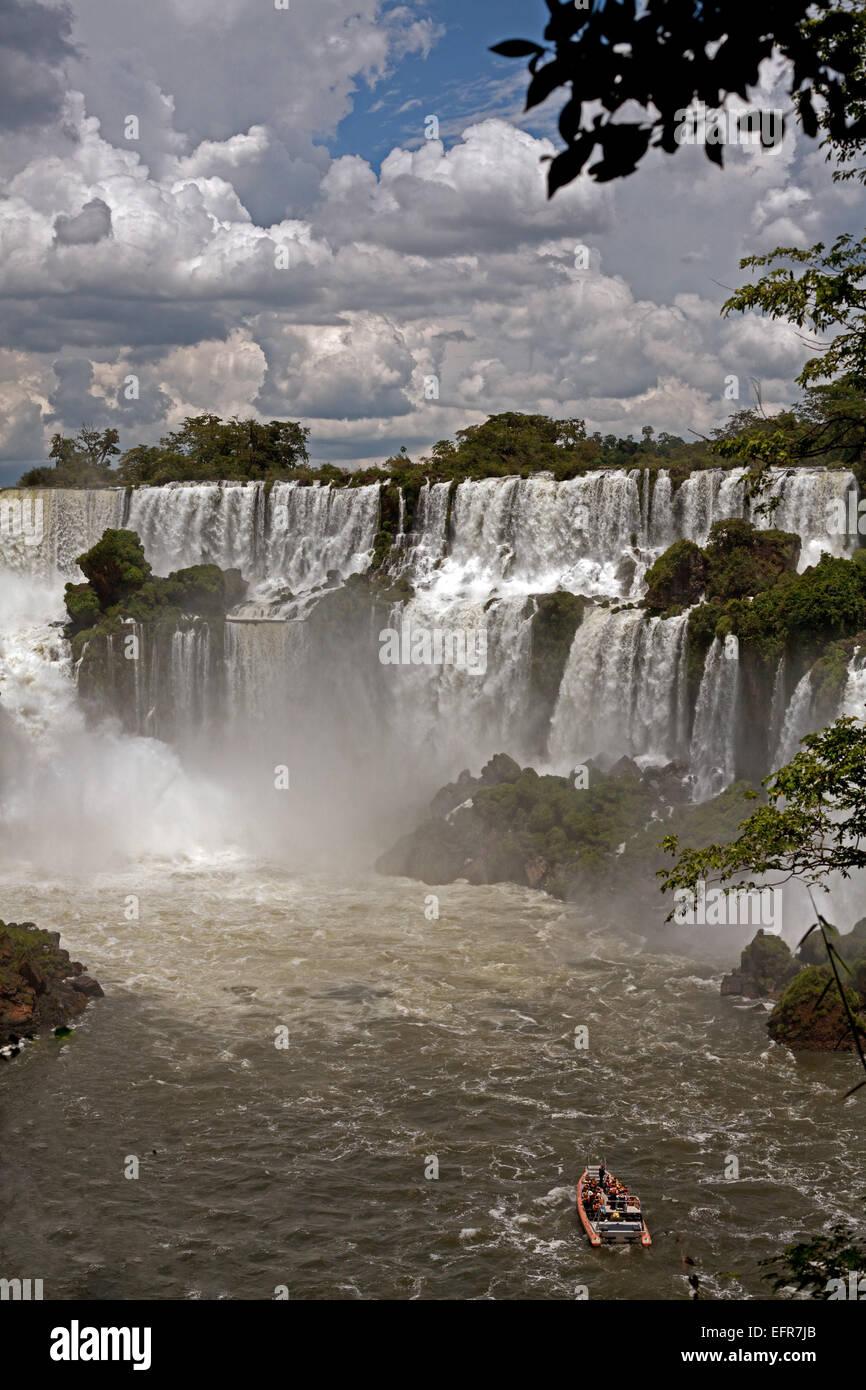 Chutes d'Iguaçu Argentine Banque D'Images