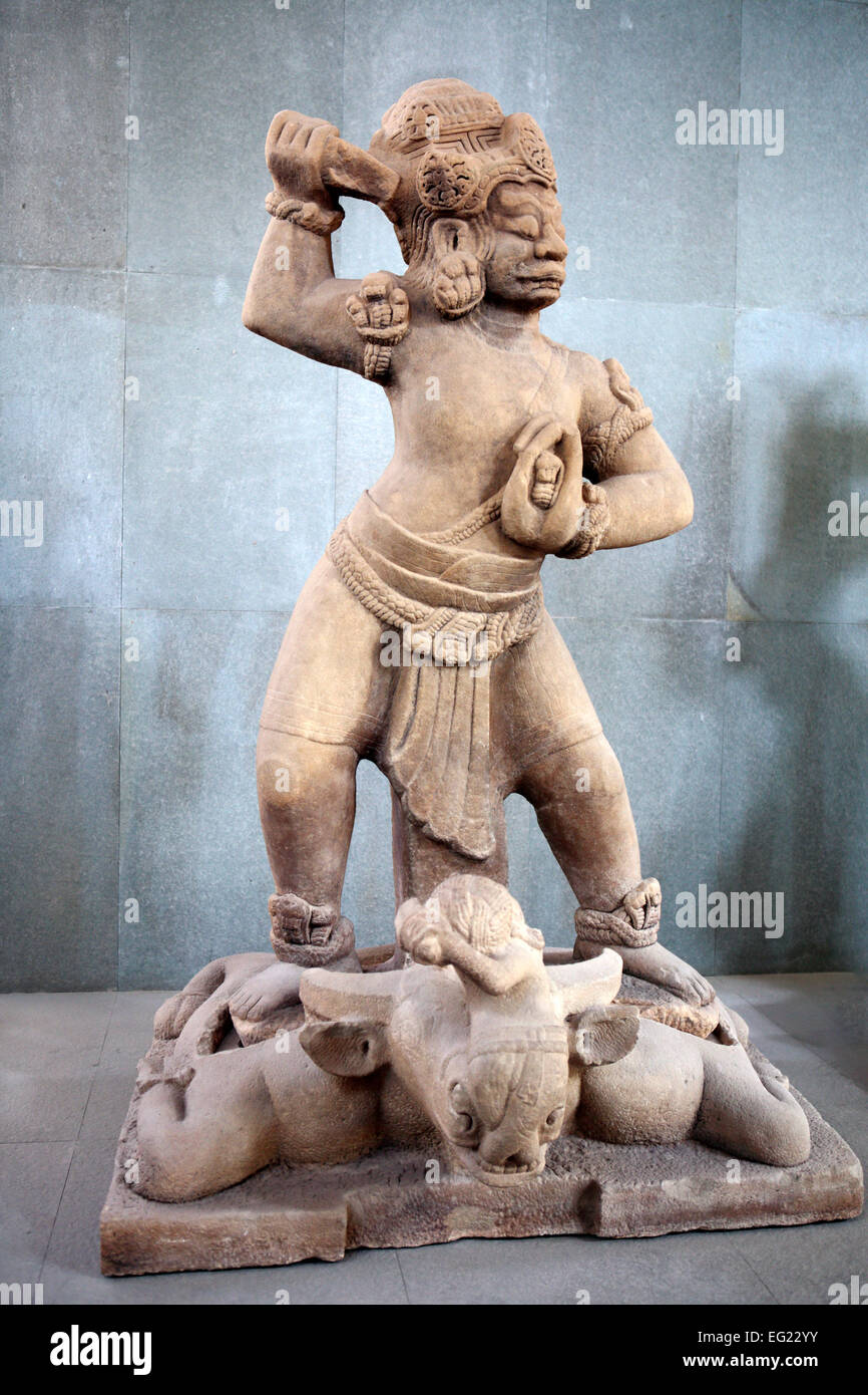 Museum of Cham Sculpture, Da nang, Vietnam Photo Stock